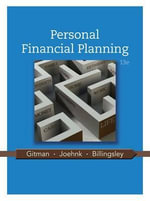 Personal Financial Planning - Lawrence J Gitman