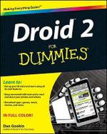 Droid 2 for Dummies - Dan Gookin