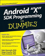 Android 3 SDK Programming For Dummies - Rajiv Ramnath