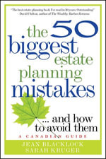 The 50 Biggest Estate Planning Mistakes...and How to Avoid Them - Jean Blacklock