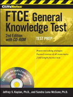 CliffsNotes FTCE General Knowledge Test : with CD-ROM - Jeffrey S. Kaplan