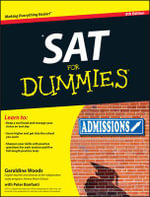 SAT for Dummies : 8th Edition - Geraldine Woods