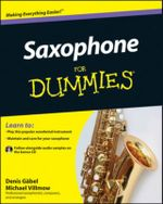 Saxophone for Dummies  : With CD - Denis Gabel