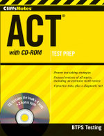 CliffsNotes ACT : Book + DVD + Online + Mobile - BTPS Testing