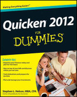 Quicken 2012 For Dummies : For Dummies (Computers) - Stephen L. Nelson