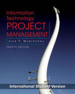Information Technology Project Management with CD-ROM - Jack T. Marchewka