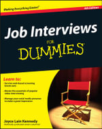 Job Interviews for Dummies : 4th Edition - Joyce Lain Kennedy