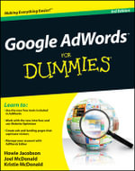 Google Adwords for Dummies : 3rd Edition - Howie Jacobson