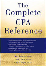 The Complete CPA Reference - Dr. Jae K. Shim