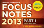 Wiley CIA Exam Review 2013 Focus Notes : Internal Audit Basics Pt. 1 - Rao Vallabhaneni