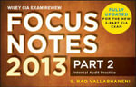 Wiley CIA Exam Review Focus Notes: v. 2 : Internal Audit Practice - Rao Vallabhaneni