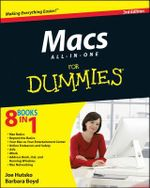 Macs All-In-One for Dummies : 3rd Edition - Joe Hutsko