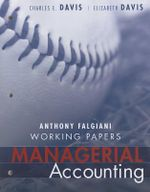 Managerial Accounting : Working Papers - Charles E. Davis