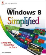 Windows 8 Simplified - Paul McFedries