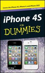 Iphone 4S for Dummies Pocket Edition - Edward C. Baig