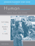 AP Study Guide to Accompany Human Geography : People, Place, and Culture - H. J. de Blij