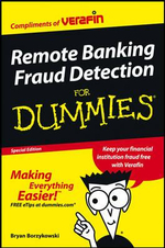CUSTOM Online Banking Fraud Detection For Dummies - Bryan Borzykowski