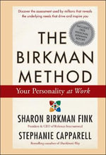 The Birkman Method : Your Personality at Work - Sharon Birkman Fink