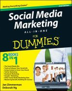 Social Media Marketing All-in-One For Dummies : For Dummies (Lifestyles Paperback) - Jan Zimmerman