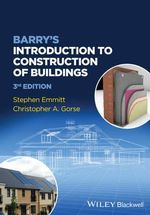 Barry's Introduction to Construction of Buildings - Stephen Emmitt