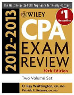 Wiley CPA Examination Review 2012-2013 : 2012-2013 Set - Patrick R. Delaney