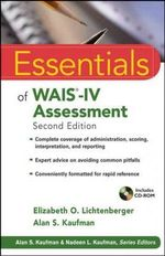 Essentials of WAIS-IV Assessment : 2nd Edition - Elizabeth O. Lichtenberger
