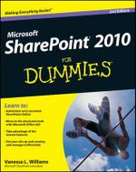 SharePoint 2010 for Dummies : 2nd Edition - Vanessa L. Williams