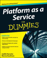 Platform as a Service For Dummies(R) - Judith Hurwitz