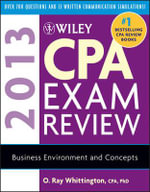 Wiley CPA Exam Review 2013 - O. Ray Whittington