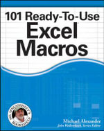 101 Ready-to-use Excel Macros - Michael Alexander