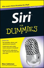 Siri For Dummies : Portable Edition - Marc Saltzman