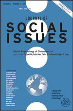 Social Psychology of Globalization : Journal of Social Issues (JOSI)
