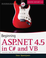 Beginning ASP.NET 4.5 : in C# and VB - Imar Spaanjaars