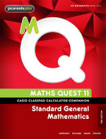 Casio Classpad Calculator Companion Maths Quest 11 Standard General Mathematics 2E - Raymond Rozen