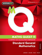 Maths Quest 11 Standard General Mathematics 2E TI-Nspire Calculator Companion - Raymond Rozen