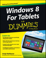 Windows 8 for Tablets For Dummies - Andy Rathbone