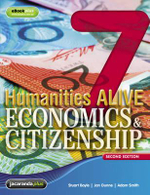 Humanities Alive Economics & Citizenship 7 & eBookPLUS - Stuart Boyle