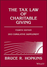The Tax Law of Charitable Giving 2013 - Bruce R. Hopkins