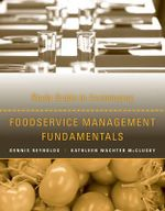 Foodservice Management Fundamentals : Study Guide - Dennis R. Reynolds