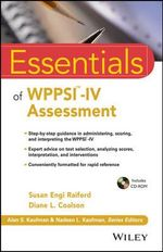 Essentials of WPPSI-IV Assessment : Essentials of Psychological Assessment - Susan Engi Raiford