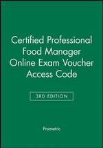 Certified Professional Food Manager Online Exam Voucher - Prometric