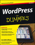 WordPress For Dummies : 5th Edition - Lisa Sabin-Wilson
