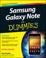 Samsung Galaxy Note For Dummies - Dan Gookin