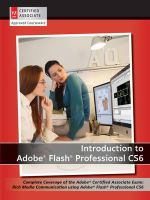 Introduction to Adobe Flash Professional CS6 with ACA Certification - AGI Creative Team