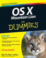 OS X Mountain Lion For Dummies - Bob LeVitus