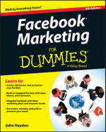 Facebook Marketing For Dummies : For Dummies (Lifestyles Paperback) - John Haydon