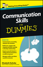 Communication Skills for Dummies - Elizabeth Kuhnke