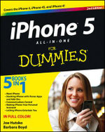 IPhone 5 All-in-One For Dummies : 2nd Edition - Joe Hutsko