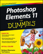 Photoshop Elements 11 For Dummies : For Dummies (Lifestyles Paperback) - Barbara Obermeier