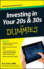 Investing in Your 20s & 30s For Dummies : For Dummies - Eric Tyson